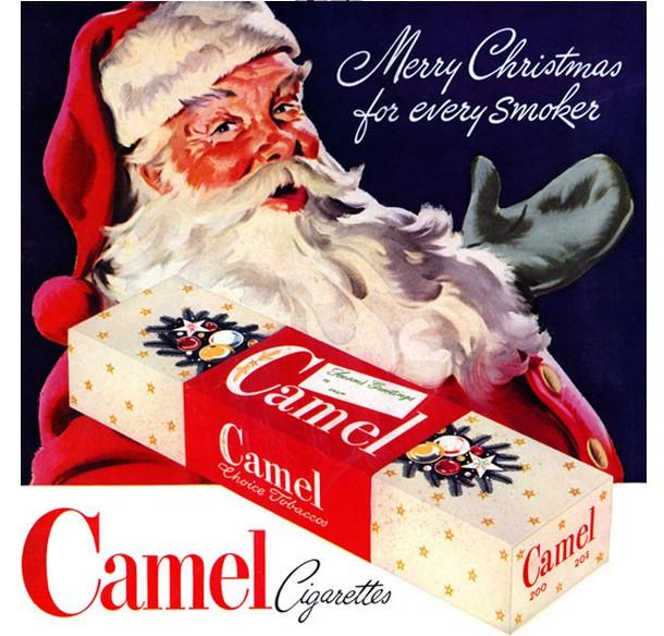 Santa-Claus-Camel-Cigarettes-Christmas-Ad